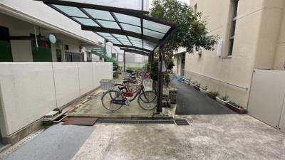 駐輪場スペースです♪