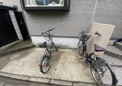 自転車置き場☆(同一仕様写真)
