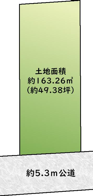 東横線駅近の高台「目黒柿の木坂」土地の画像