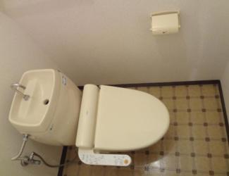 【トイレ】伊東市岡一棟アパート