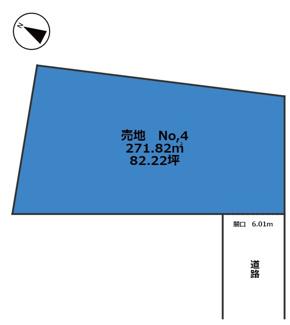 【土地図】宮崎市田野町甲 小学校に近い分譲地④