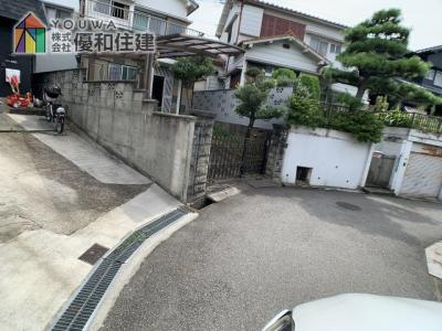 【前面道路含む現地写真】神戸市垂水区清水が丘 中古戸建