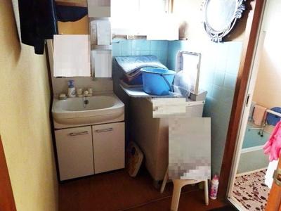 室内洗濯機置き場付き