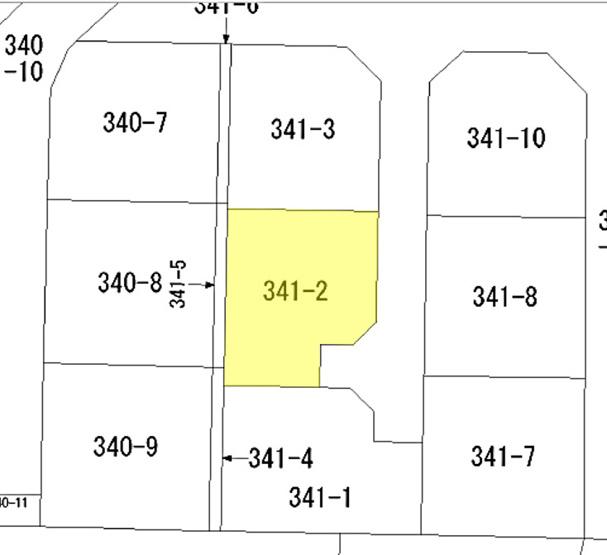 【土地図】宇部市黒石北3丁目 分譲地(建築条件付き)