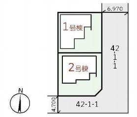【区画図】リーブルガーデンS泉南郡熊取町小垣内2期