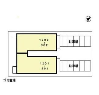 【区画図】パークサイドヒルズ