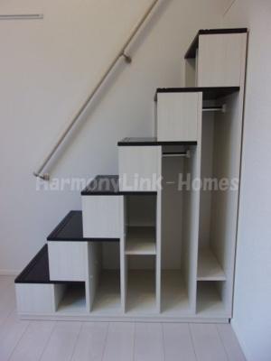 ハーモニーテラス梅田の収納付き階段☆