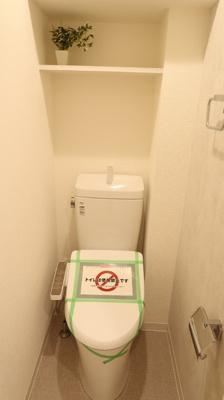 洗浄機付き温水トイレです♪