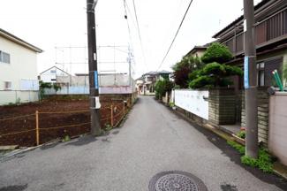 八千代市勝田台 土地 勝田台駅 前面道路車の通り抜けは少なく、閑静な住宅地です。