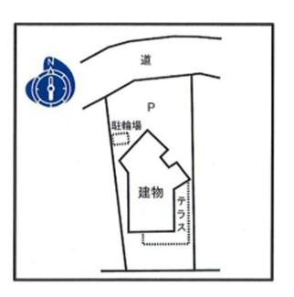 敷地面積90.41坪の整形地 前面道路5.3m 閑静な住宅街の一角です。