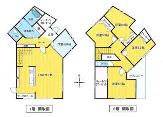 オール電化の5SLDK・151㎡の大型間取り。リフォーム済で大変綺麗なご住宅です。