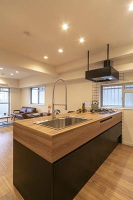 【キッチン】グリーンマンション西新
