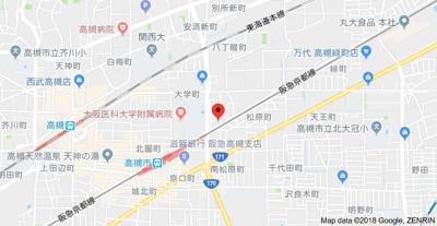 【地図】第二幸和マンション