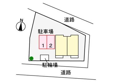 【区画図】2nd・セピア