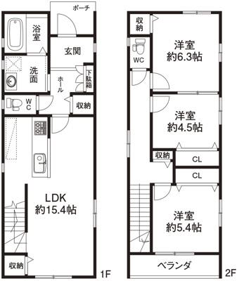 参考プラン建物価格1300万円(税込)
