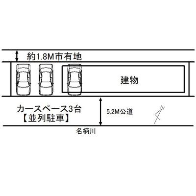 【区画図】福岡市西区小戸1丁目