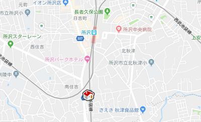 【地図】レオパレススカイタウン(27810-212)