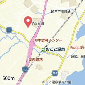 【地図】仰木の里① 貸家