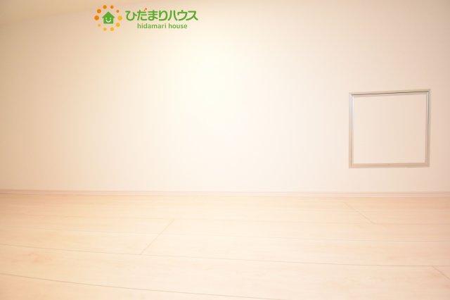 ロフトは収納スペースや趣味のスペースとしてお使いいただけます(*^^*)