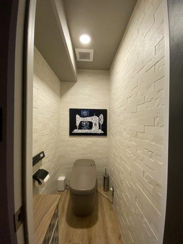 【トイレ】細部にまでこだわったデザイン