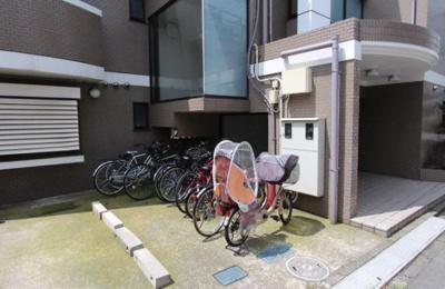 駐輪スペースです☆