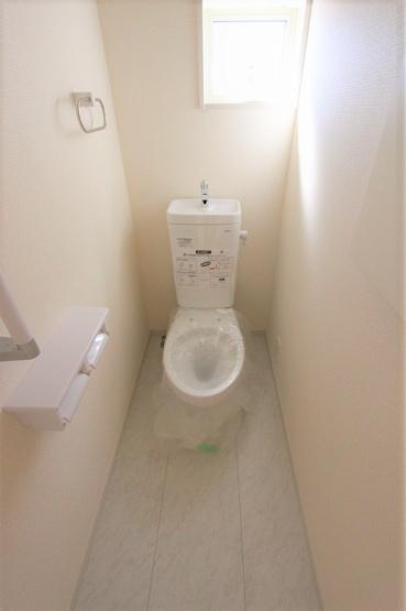 トイレです:建物完成しました♪♪毎週末オープンハウス開催♪八潮新築ナビで検索♪