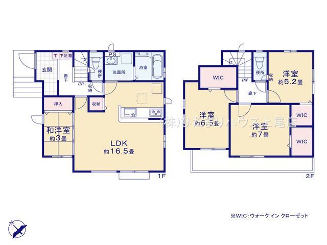 西区中野林 2期 新築一戸建て グラファーレ 01
