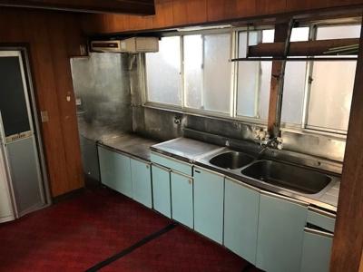 【キッチン】鳥取市雲山 中古戸建て