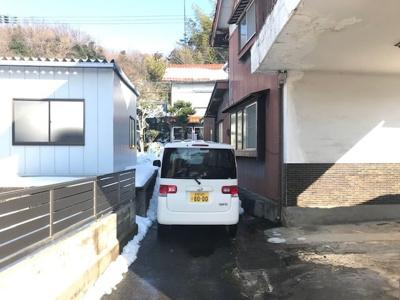 【駐車場】鳥取市雲山 中古戸建て