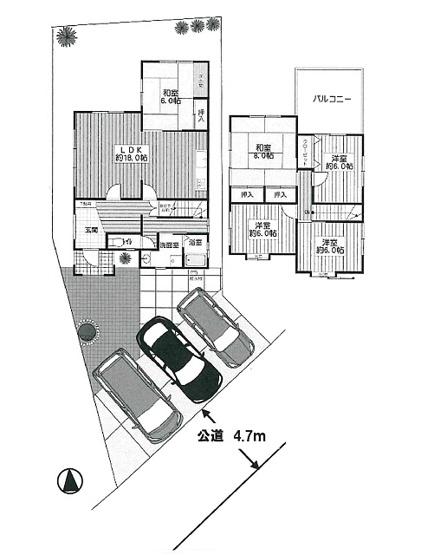 上野東3丁目既存住宅