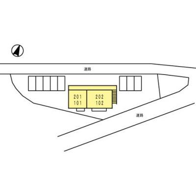 【区画図】ハイツ・カトレア