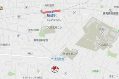【地図】レオパレスカーサ グリチーネ(40023-101)