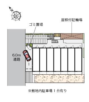 【駐車場】レオネクスト八重(53580-106)
