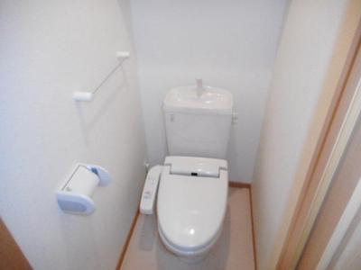 【トイレ】ヴィラ・アンジュ