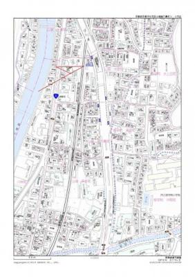 【地図】満室稼働中の一棟物件