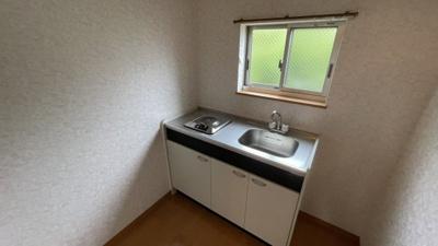 2階のキッチンスペースです。