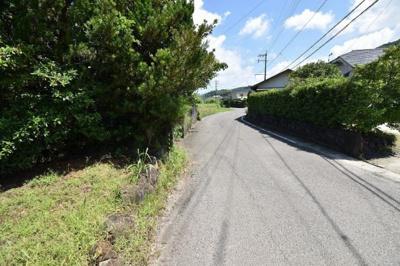 【前面道路含む現地写真】宮里町土地300
