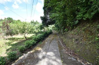 【前面道路含む現地写真】いちき串木野市冠嶽土地