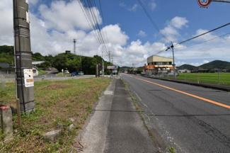 【前面道路含む現地写真】いちき串木野大里土地