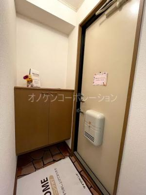 【玄関】プレミールコートB棟