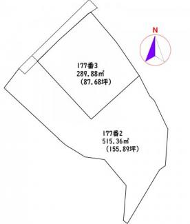 【区画図】高知市神田