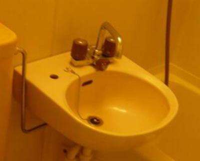 身支度に便利な洗面台