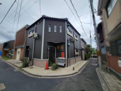 【外観】下京区八ツ柳町 中古戸建