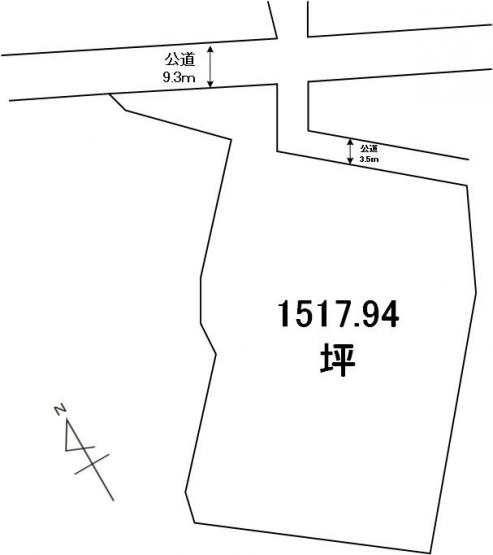 【土地図】下大野町土地