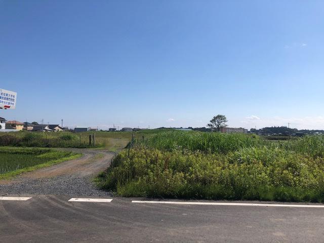 【前面道路含む現地写真】下大野町土地