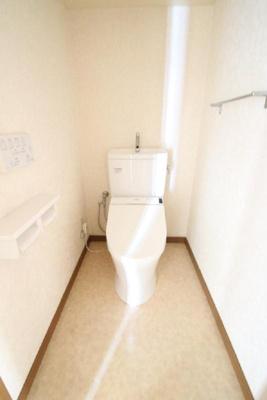 【トイレ】エイルヴィラガーデンヒル貴船 205号室