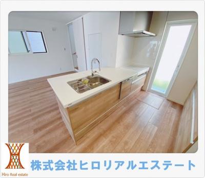 【キッチン】神戸市垂水区本多聞6丁目  新築戸建