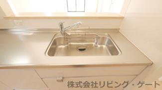 浄水器一体型水栓付きシンク