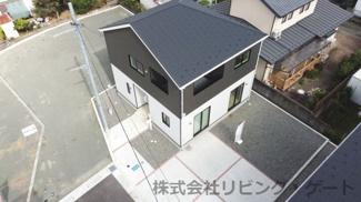 甲府市新田町 新築戸建全4棟 4号棟 ドローン写真