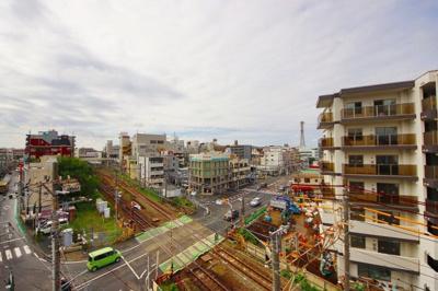 【展望】JR横浜線「中山」駅 ハイツ中山
